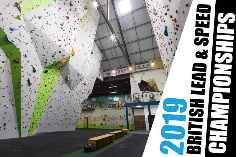 Wall Closure Notice for the 2019 British Lead and Speed Climbing Championships