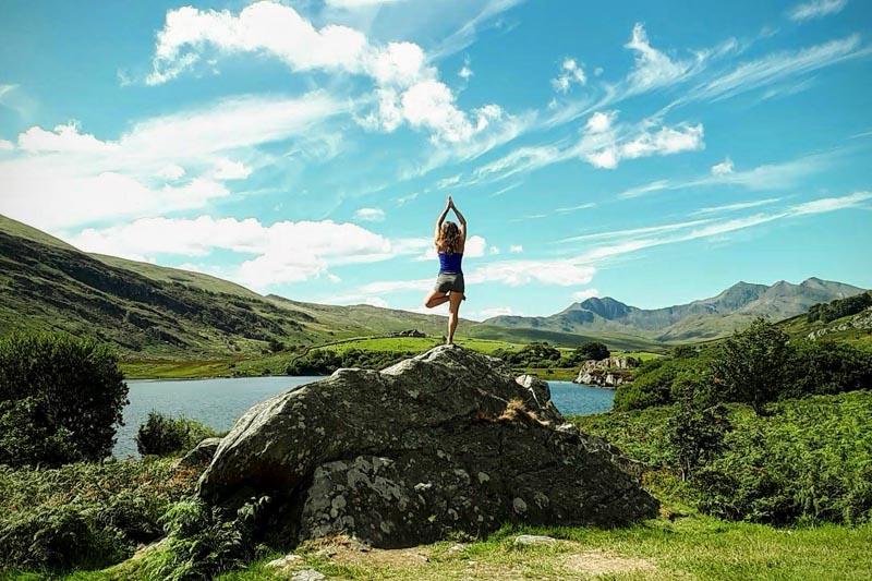 Nalini Yoga at Beacon Climbing Centre, Caernarfon, North Wales