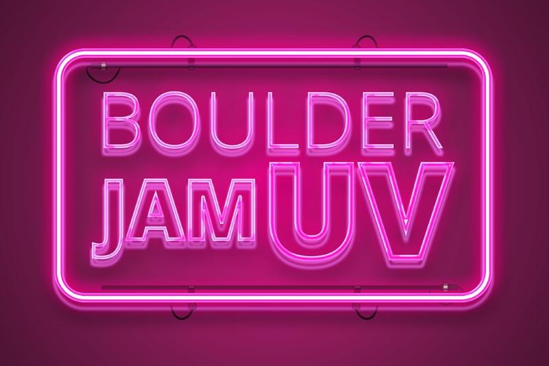 Boulder Jam UV at Beacon Climbing Centre
