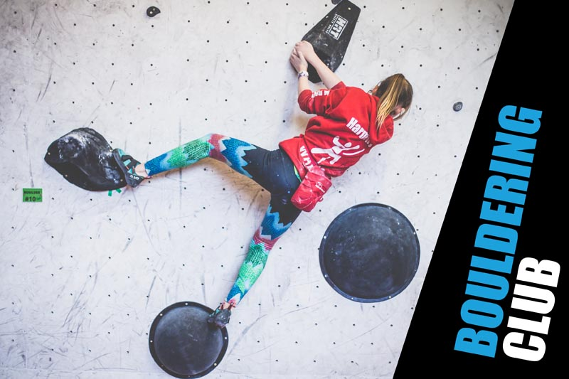 Indoor climbing at Beacon Climbing Centre, Caernarfon, North Wales