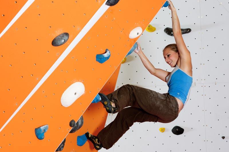 Bouldering Induction at Beacon Climbing Centre, Caernarfon, North Wales
