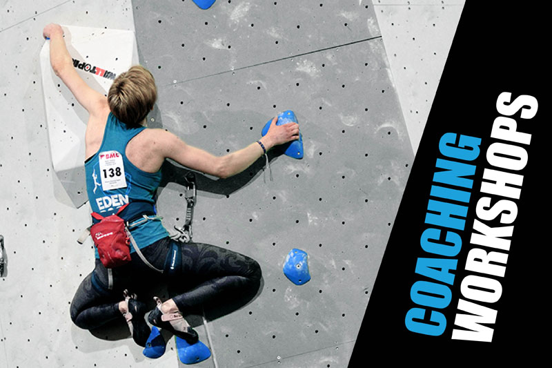 Climbing Coaching at Beacon Climbing Centre, Caernarfon, North Wales