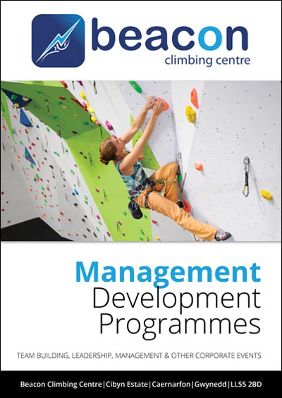 Corporate Experiences at Beacon Climbing Centre, Caernarfon, North Wales