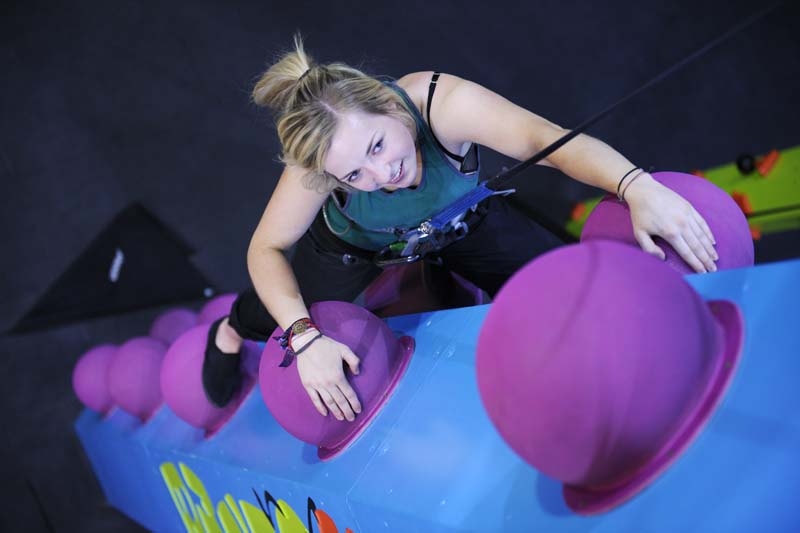 CrazyClimb at Beacon Climbing Centre, Caernarfon, North Wales
