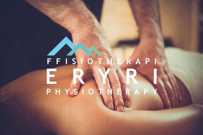 Physiotherapy at Beacon Climbing Centre, Caernarfon, North Wales