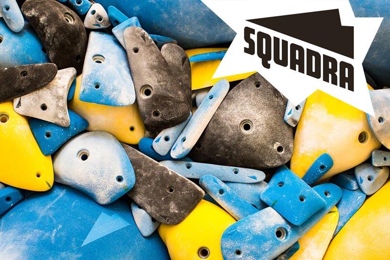 Squadra Climbing Holds