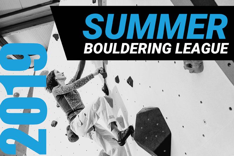Summer Bouldering League